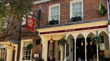 Old Vine Hotel Winchester Hampshire