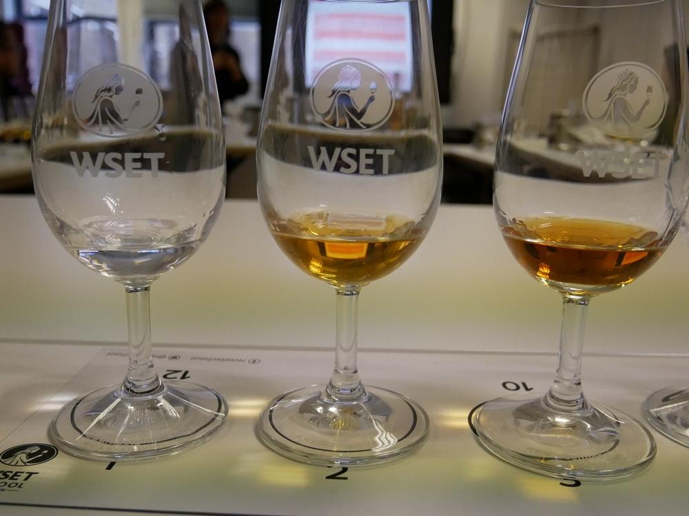 WSET - Spirit Tasting