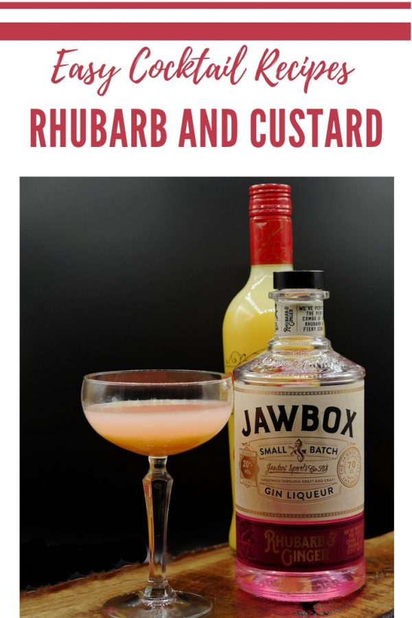 Rhubarb and Custard Cocktail