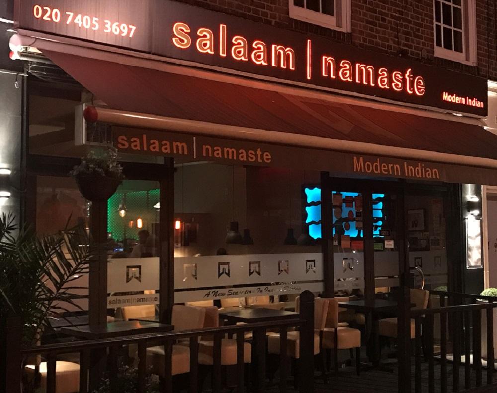 Salaam Namaste -Restaurant front