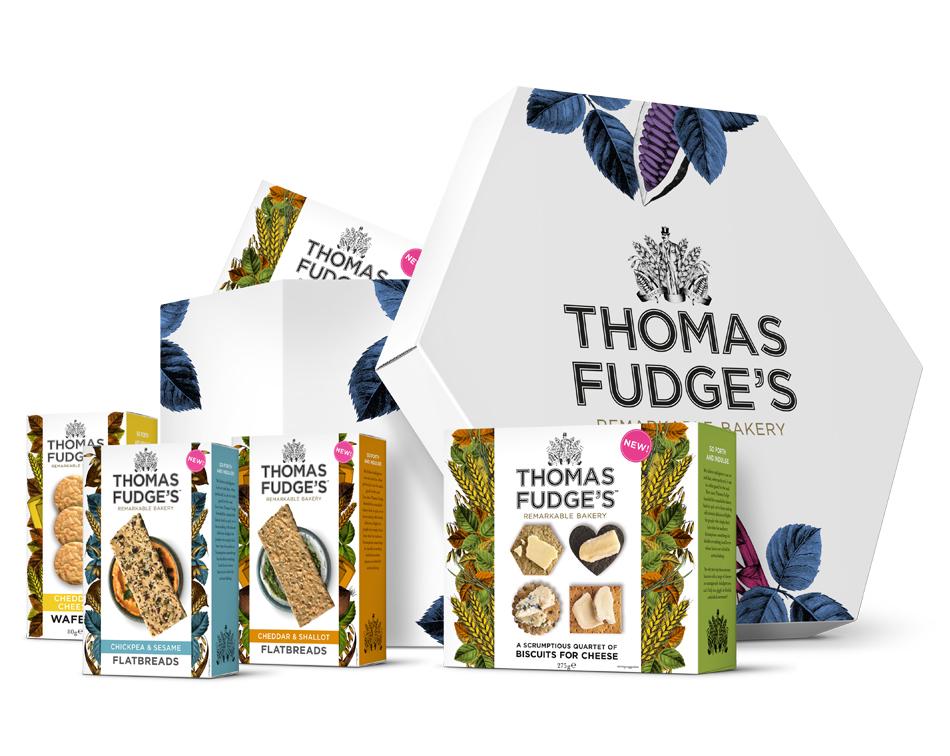 Thomas Fudges Savoury-Selection