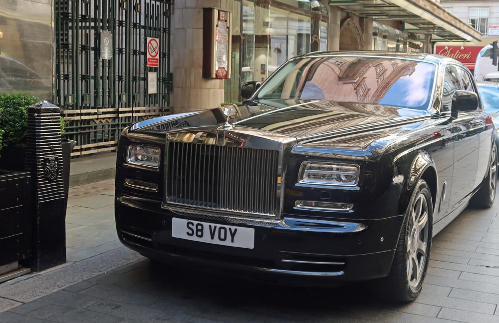 Savoy Hotel Exterior Rolls Royce