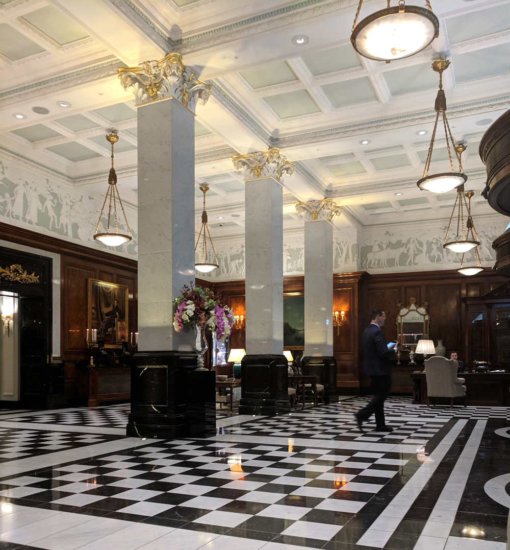 Savoy London - Lobby