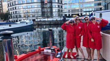 Set Sail across London in a HotTug