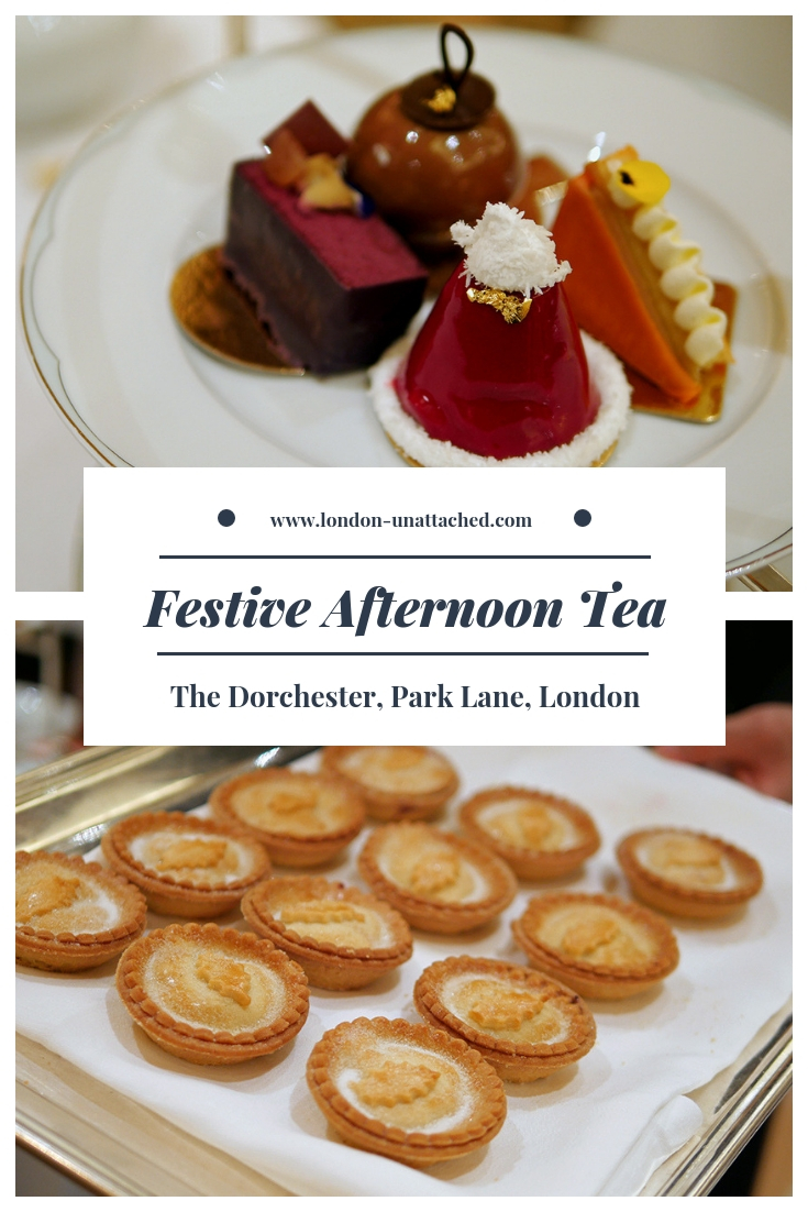 The Dorchester Festive Afternoon Tea