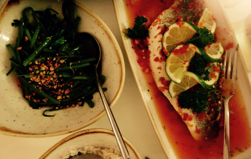 Uli bass and veg