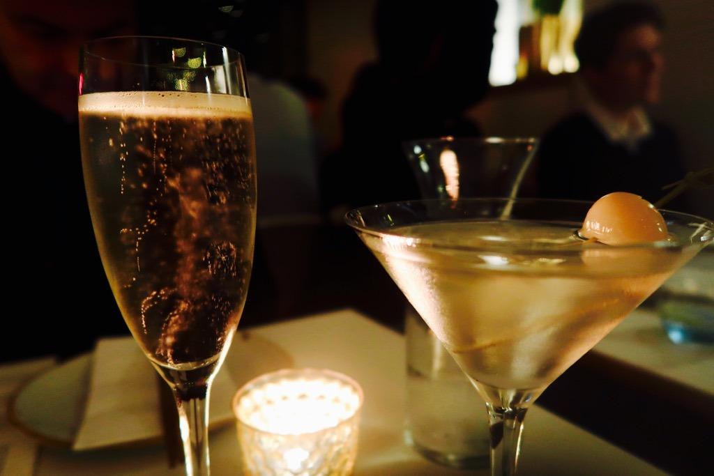 Uli drinks