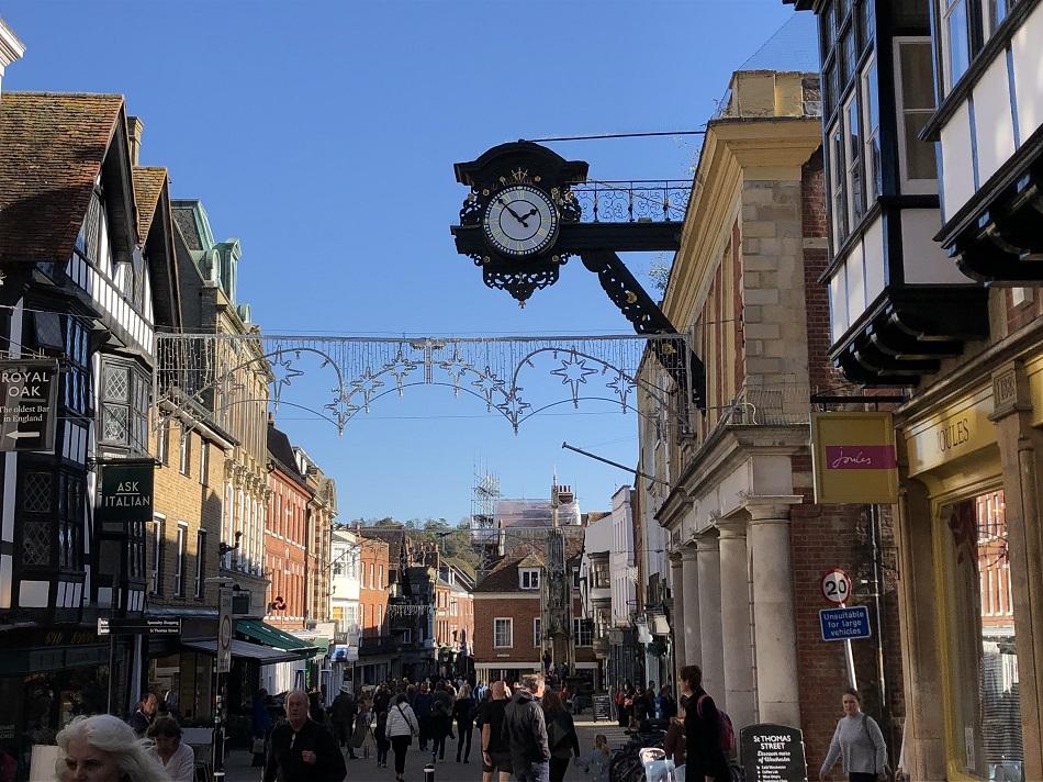Winchester Clock Winchester Hampshire
