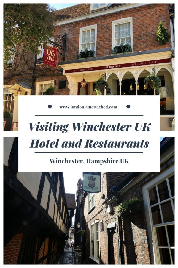 Winchester Hampshire UK - where to stay and where to eat - hotel and restaurant recommendations