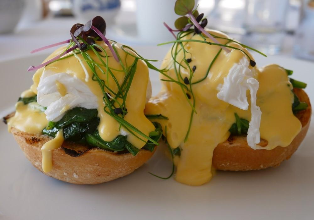 De Vere Wokefield Estate - eggs Florentine