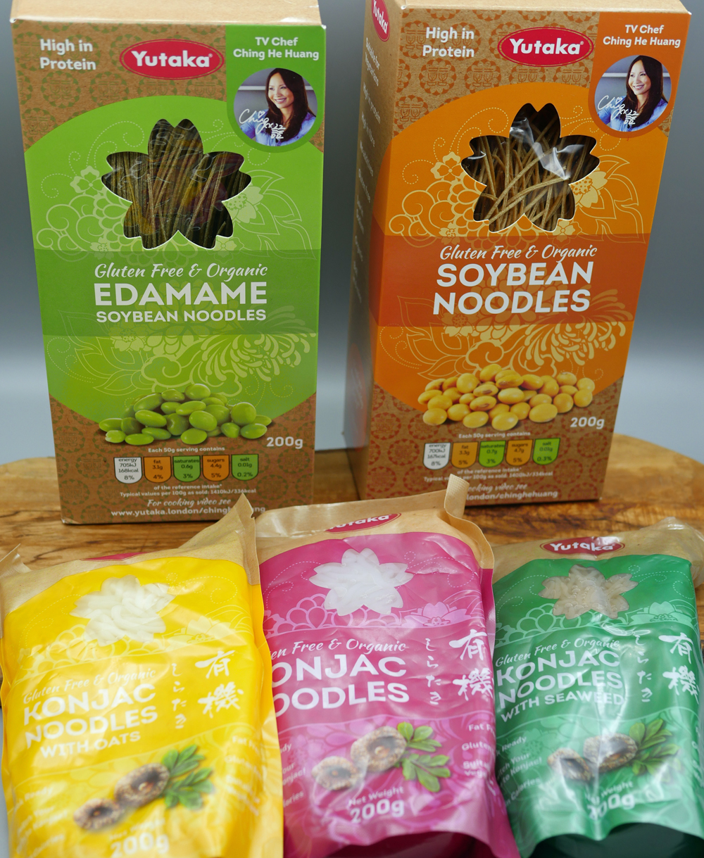 Yutaka Noodles for sesame chicken stir fry