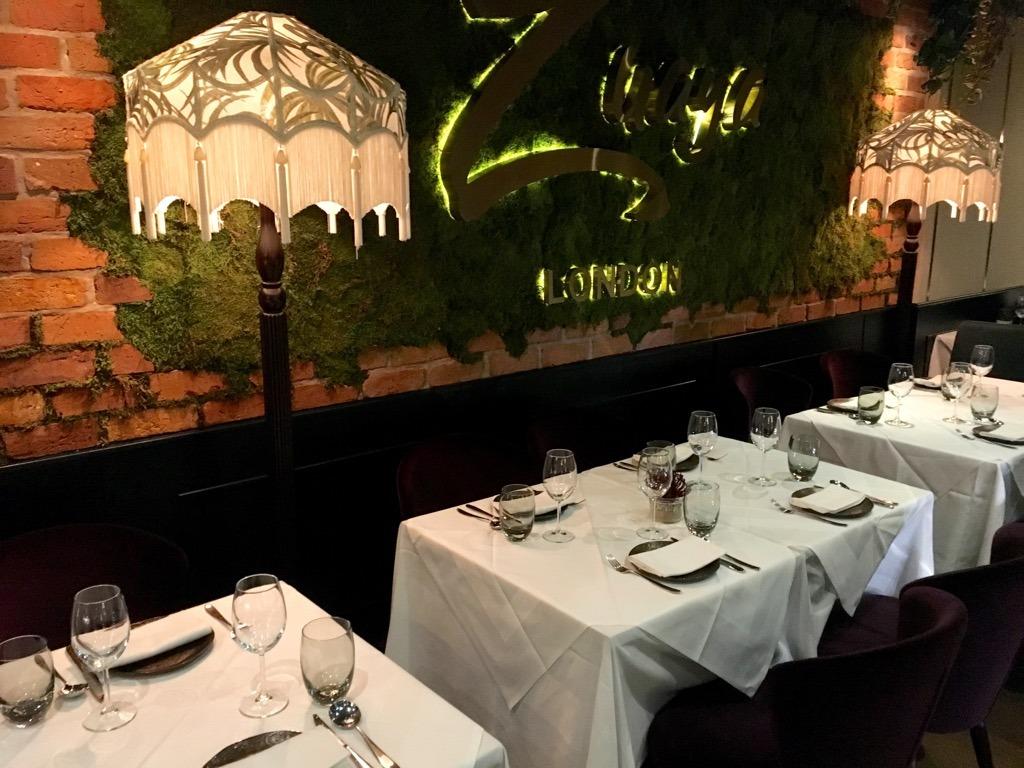 ZUAYA Latin American Restaurant Interior