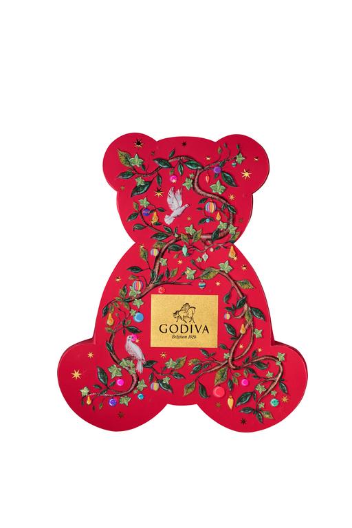 Godiva Chocolates Bear Box