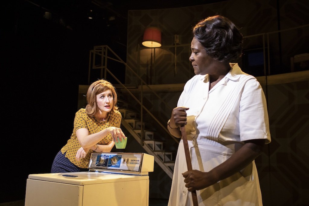Lauren-Ward-and-Sharon-D.-Clarke-in-Caroline Or Change Playhouse Theatre