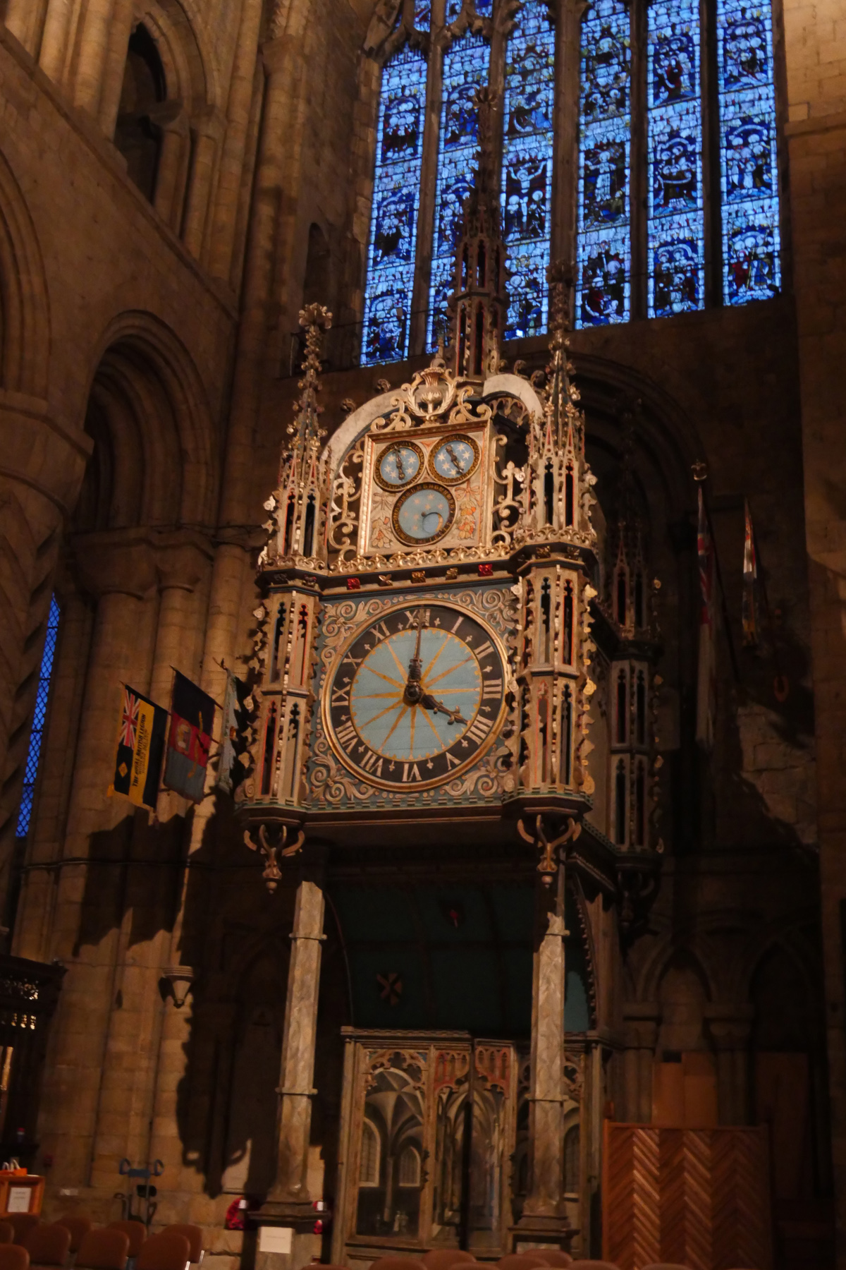 16th Century Clock Durham Cathedral