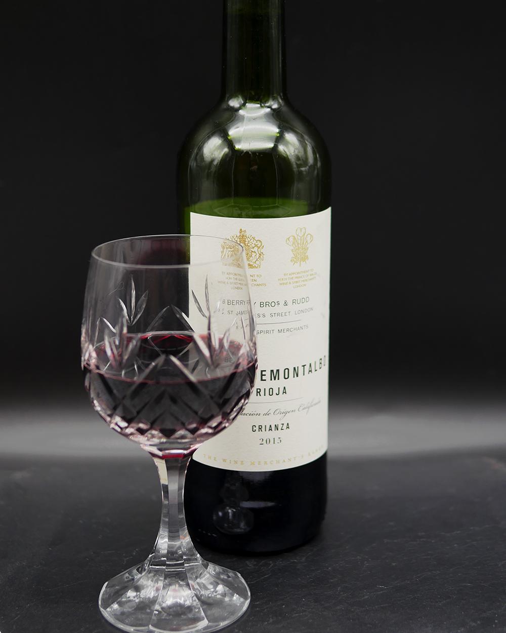 Berry Brothers and Rudd Rioja - christmas wine pairings