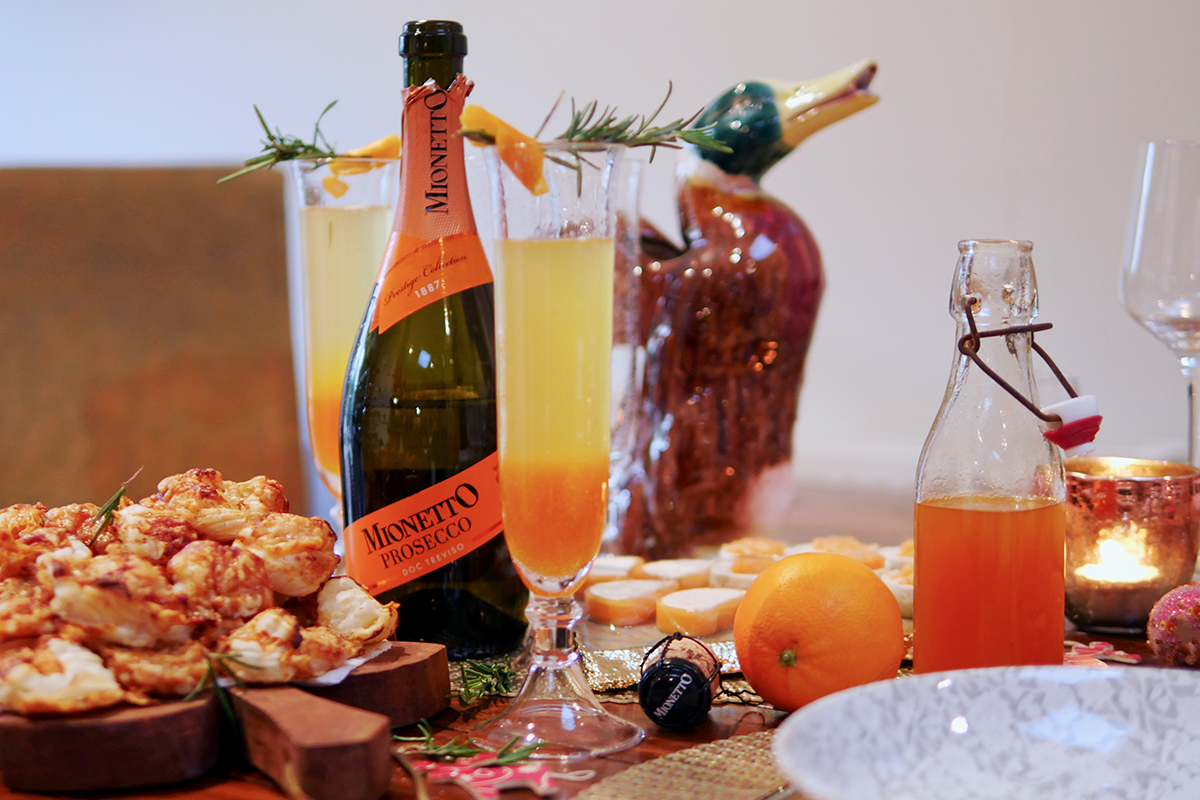 Christmas Orange Cocktail