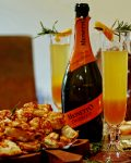 Christmas Prosecco Spritz Cocktail