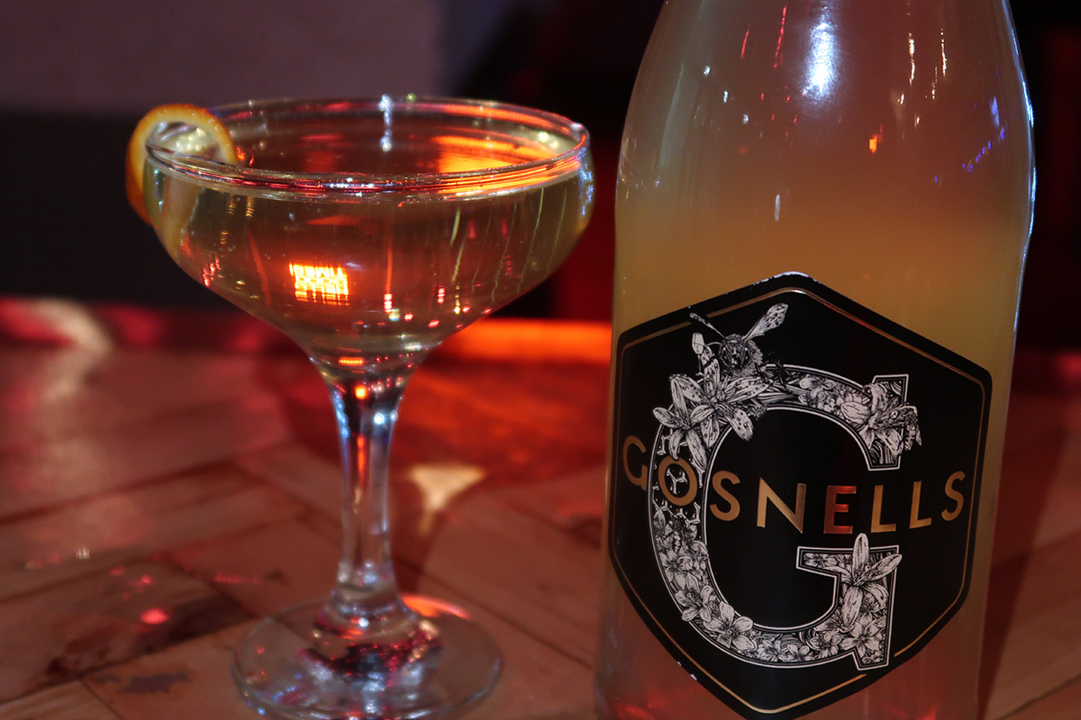 Gosnells Sparkling Mead Cocktail 2