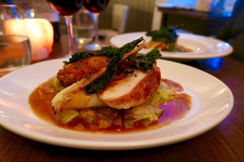 L'Amorosa Restaurant Hammersmith chicken
