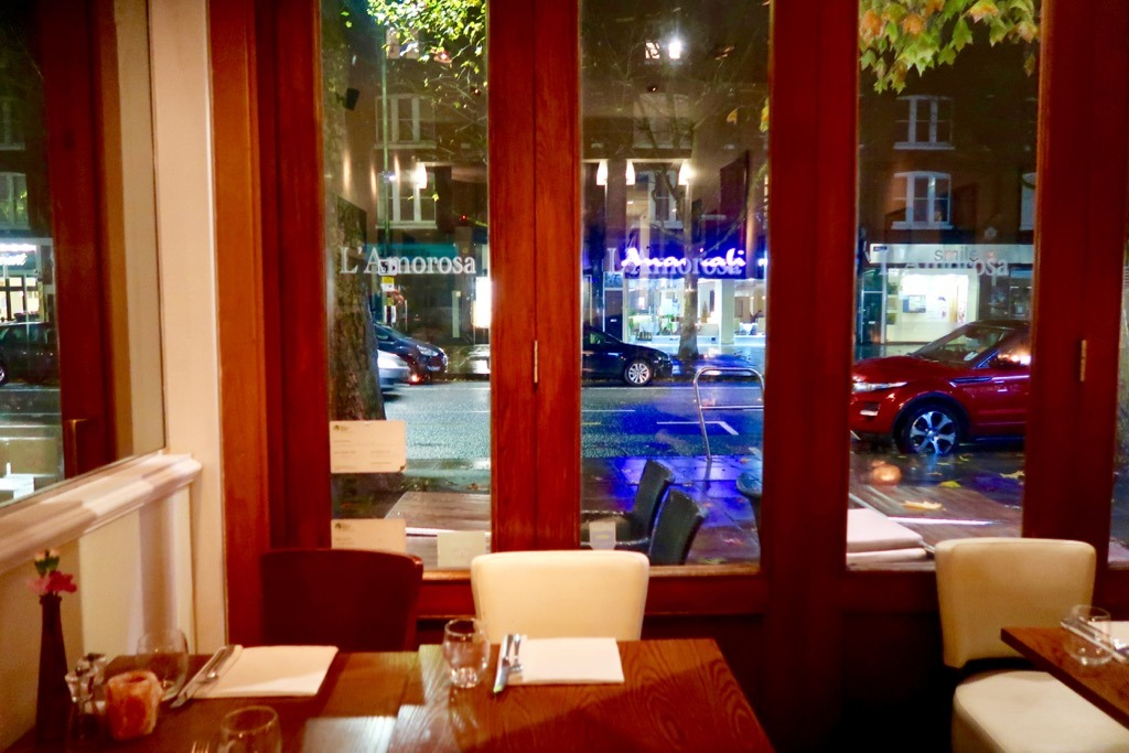 L'Amorosa Restaurant Hammersmith Interior