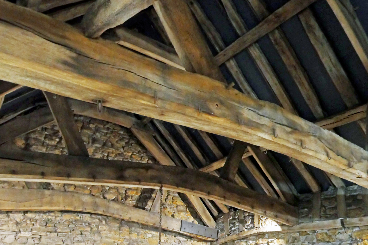 Roof - Great Hall - Crook Hall