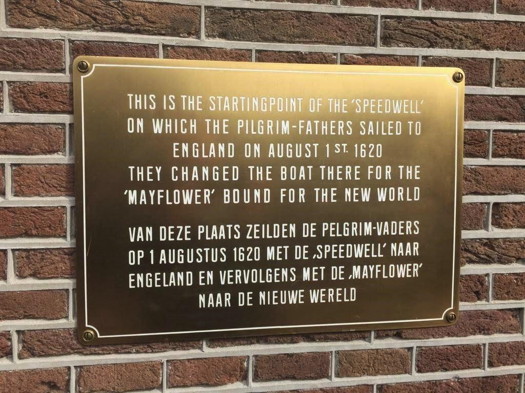 Speedwell plaque, Delfshaven-min