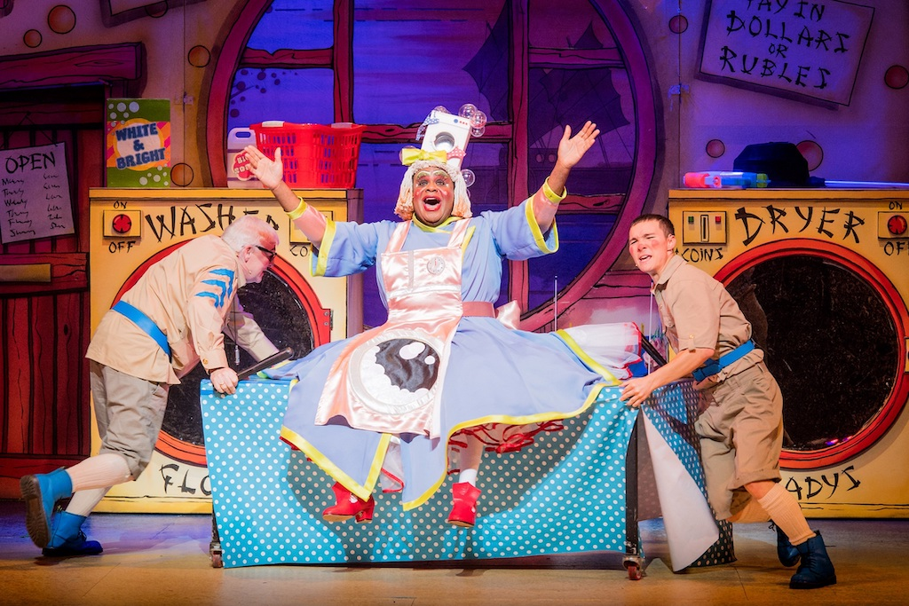 Aladdin at the Hackney Empire