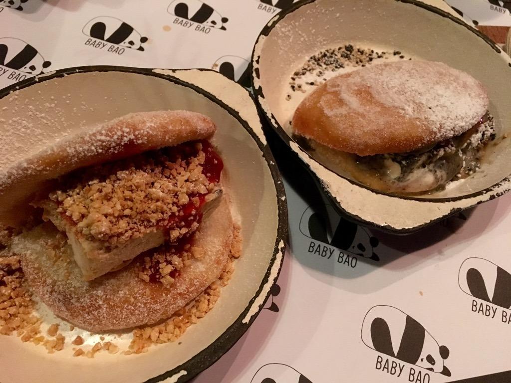Baby Bao desserts