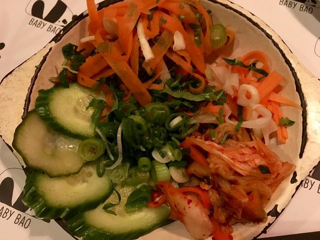 Baby Bao salad