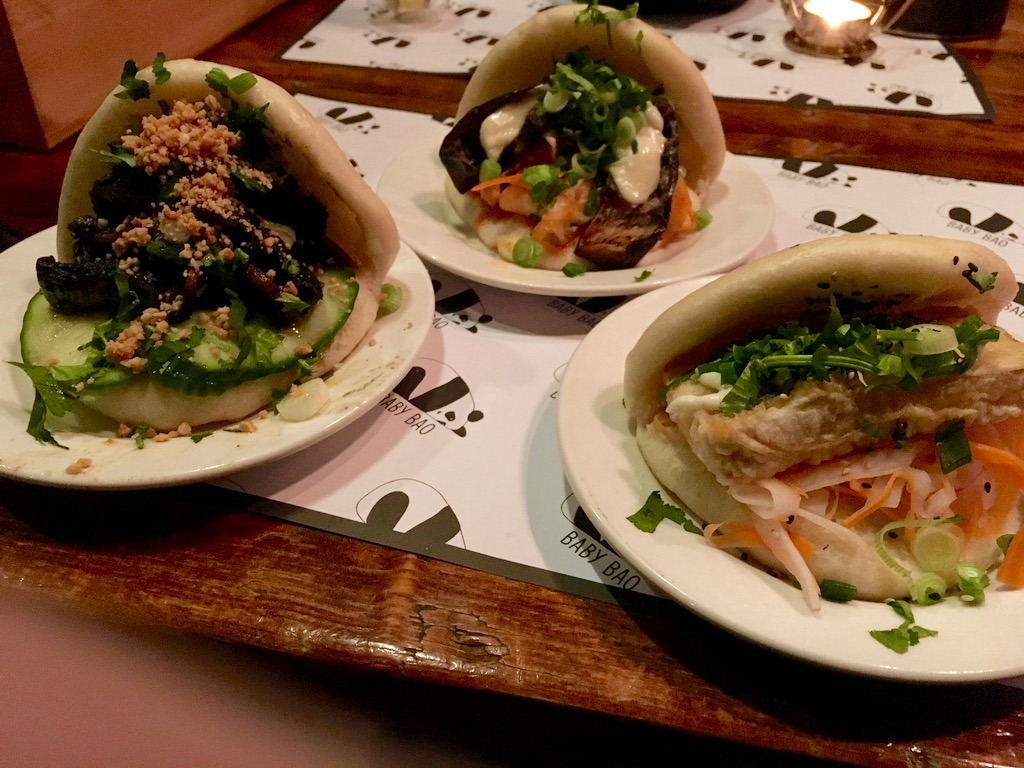 Vegan Bao at Baby Bao