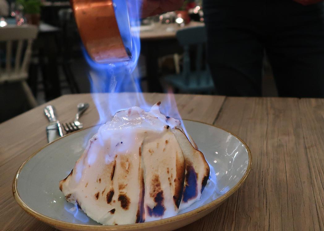 Baked Alaska Flambe