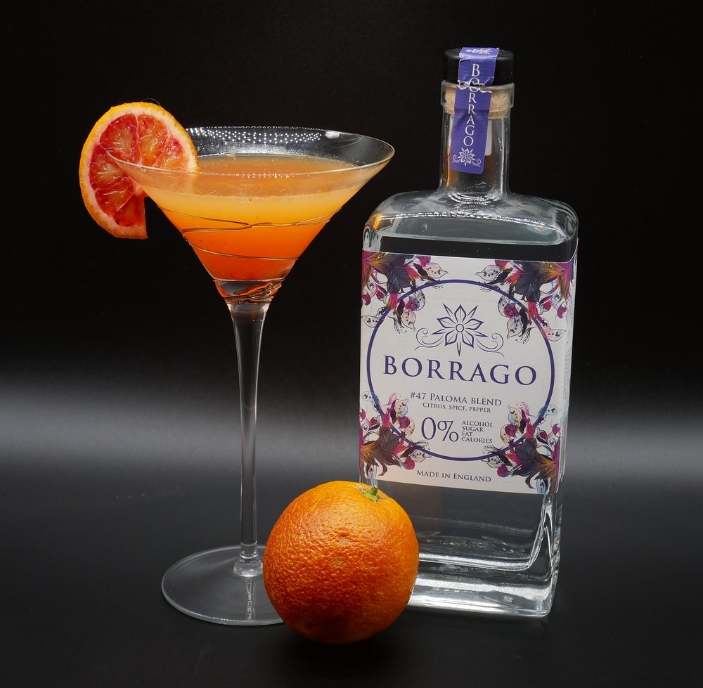 Borrago - Non-alcoholic Blood Orange Borragotini