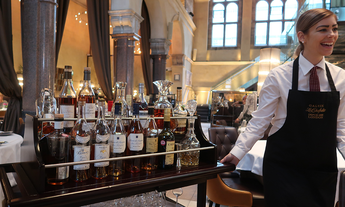 Galvin La Chapelle Brandy Trolley