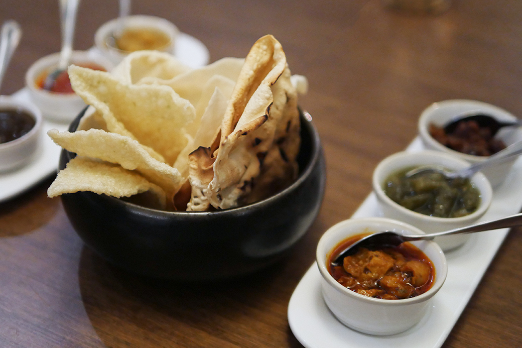 Kahani Indian Restaurant - chutnies and pickles