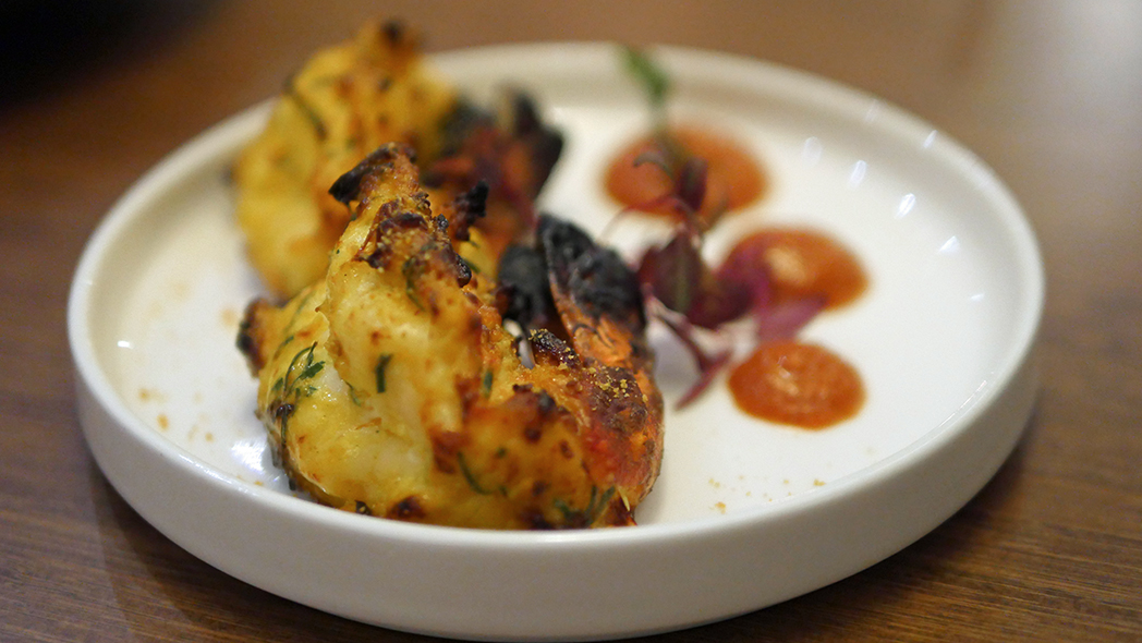 Kahani Restaurant Chelsea Smoked Malabar Prawns