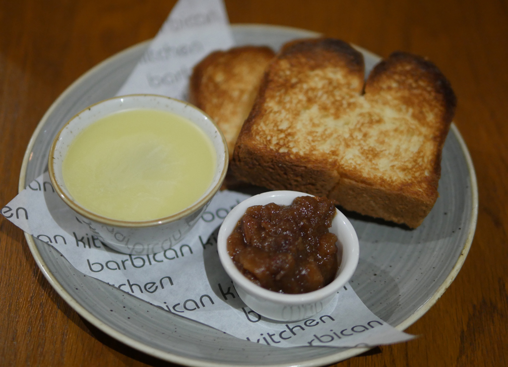 Barbican Kitchen Pate and Brioche Plymouth