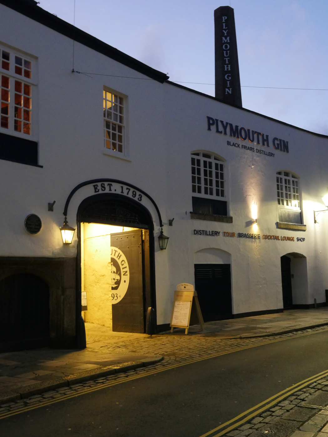 Plymouth Blackfriars Gin Distillery