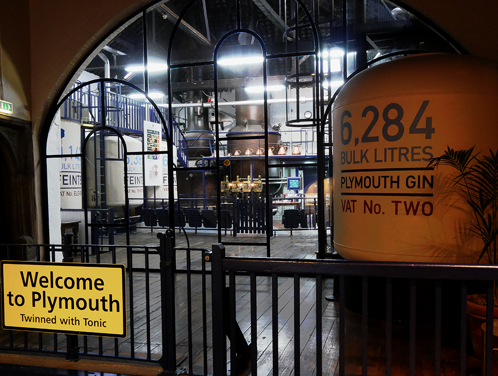 Plymouth Gin Distillery Stills