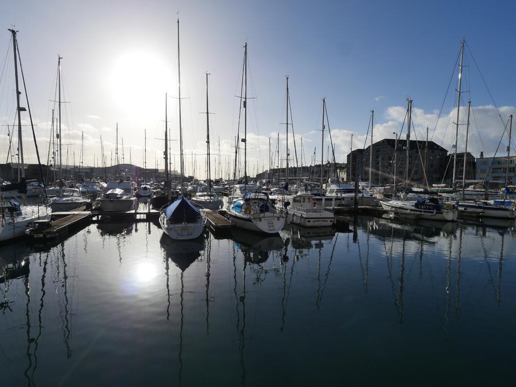 Plymouth marina