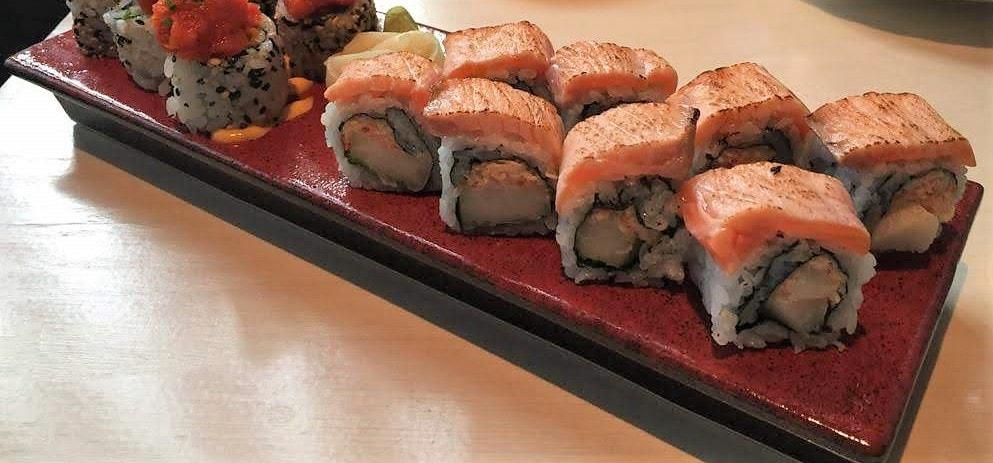 Sake No Hana, Maki platter-min