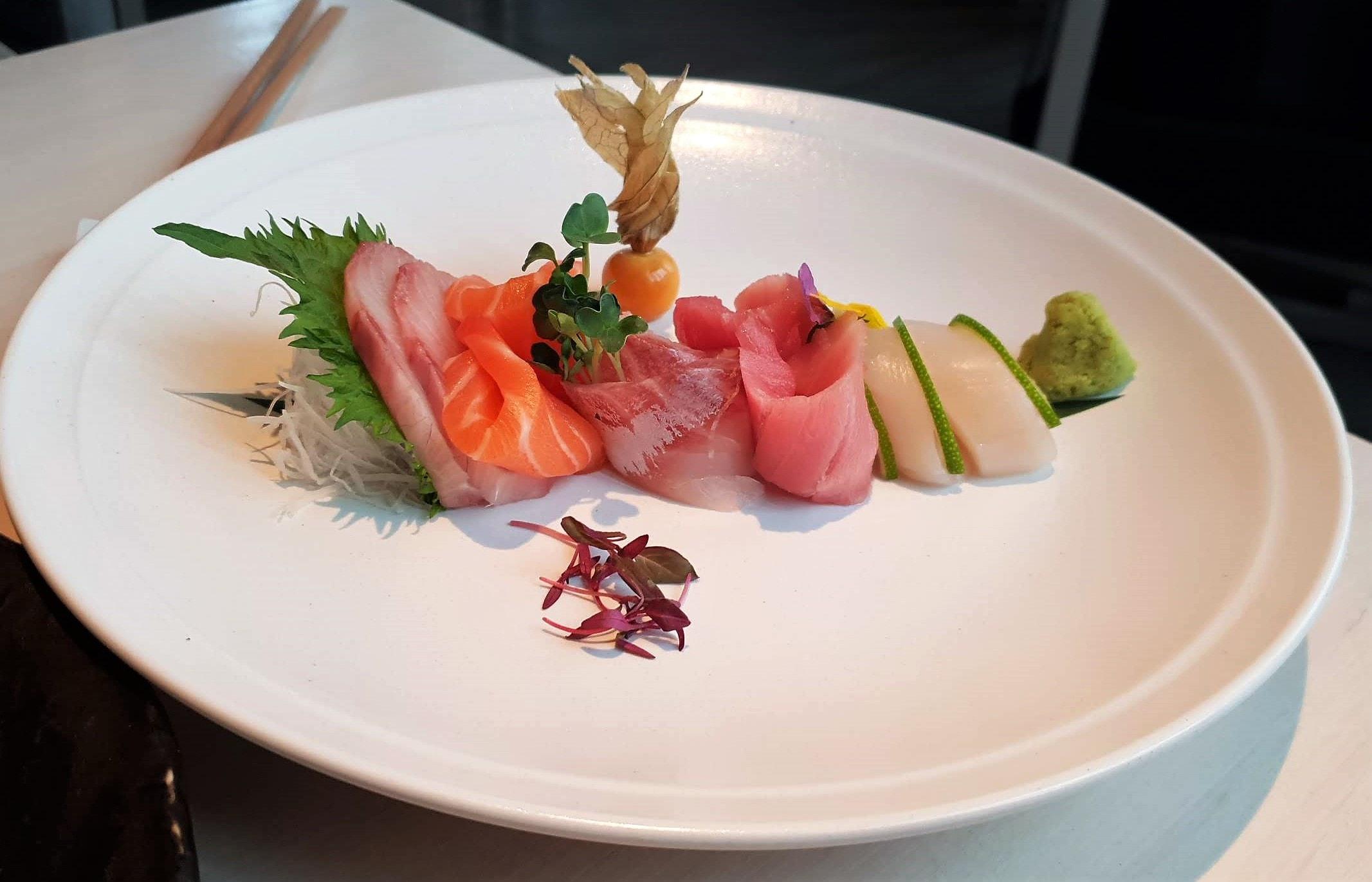 Sake No Hana Mayfair, Sashimi platter