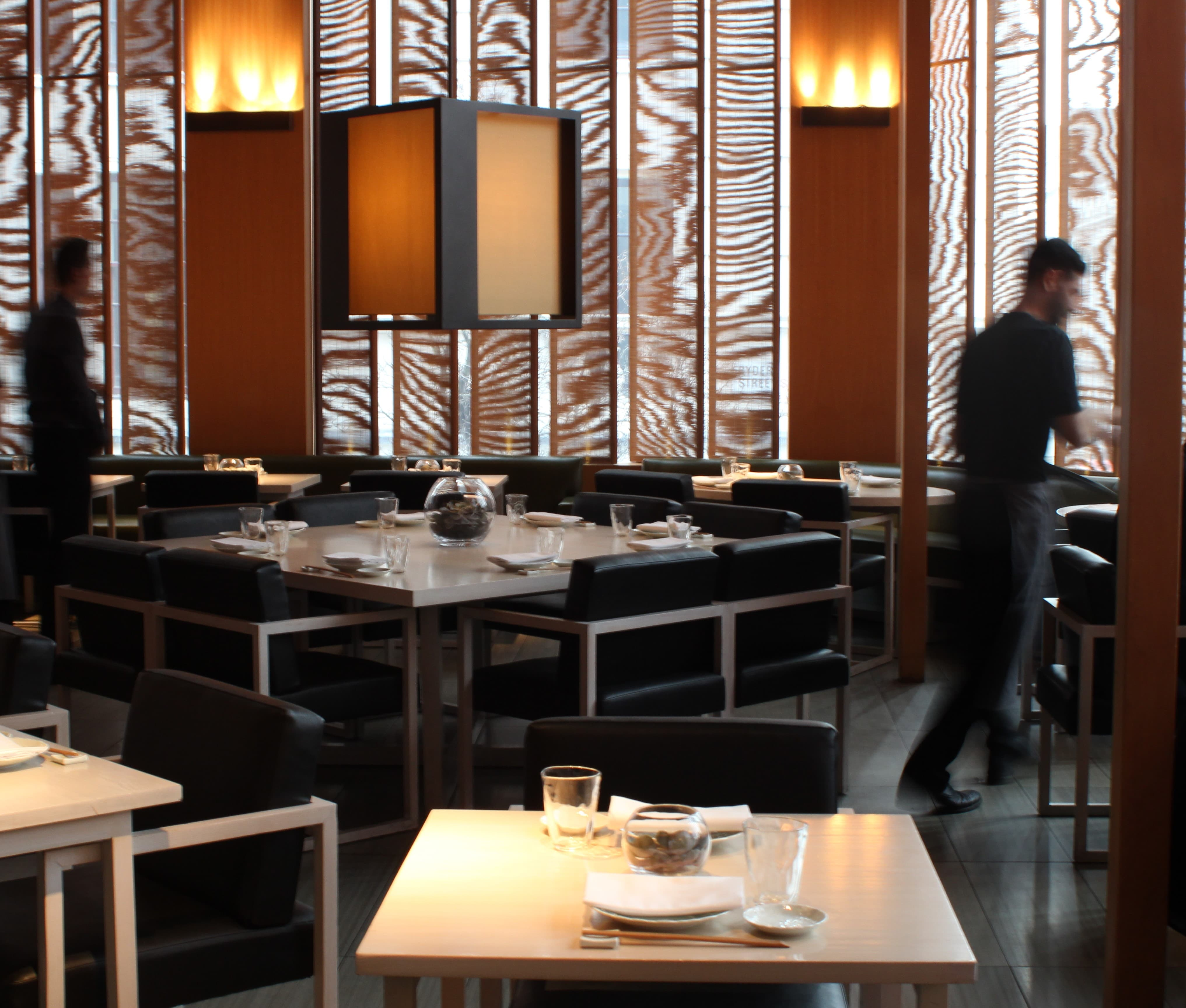 Sake No Hana, Mayfair interior