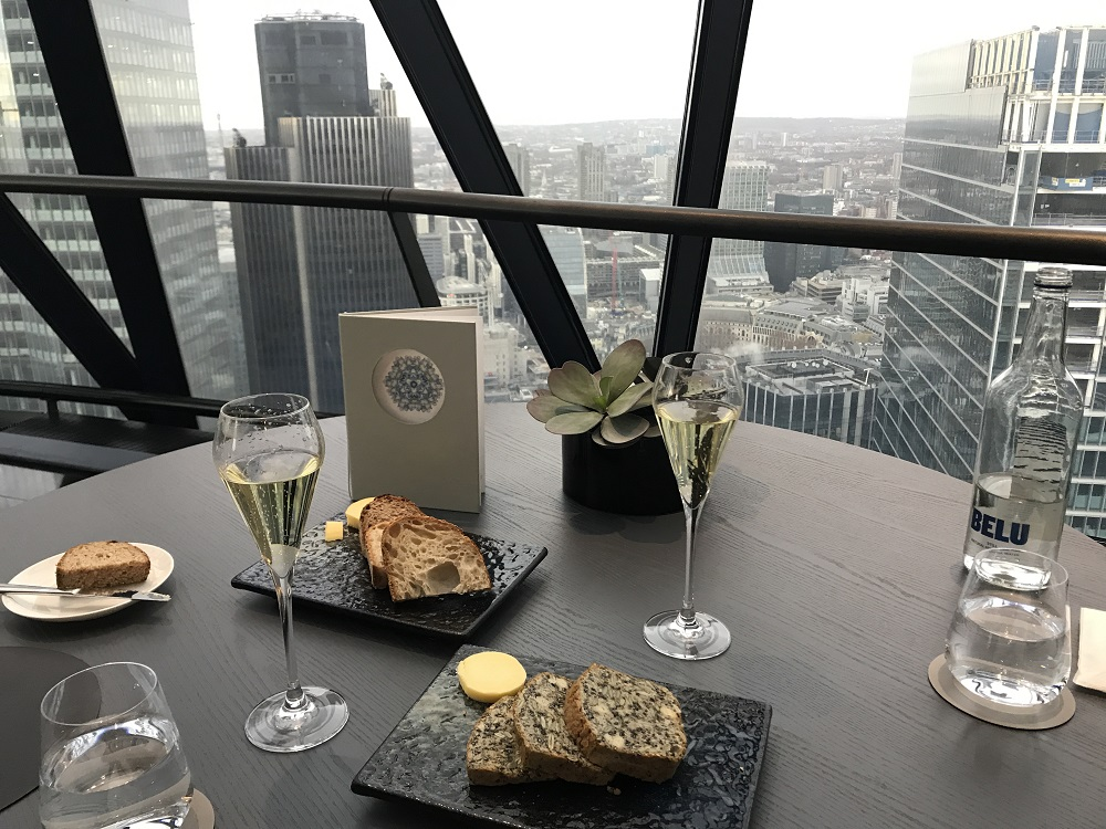 Searcys The Gherkin champagne & Views