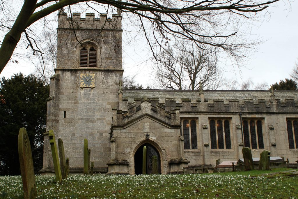 All Saint's Babworth - Mayflower Pilgrim Trail