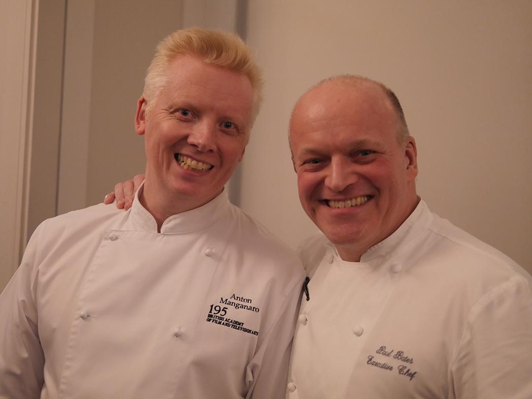 BAFTA Awards Dinners Chefs