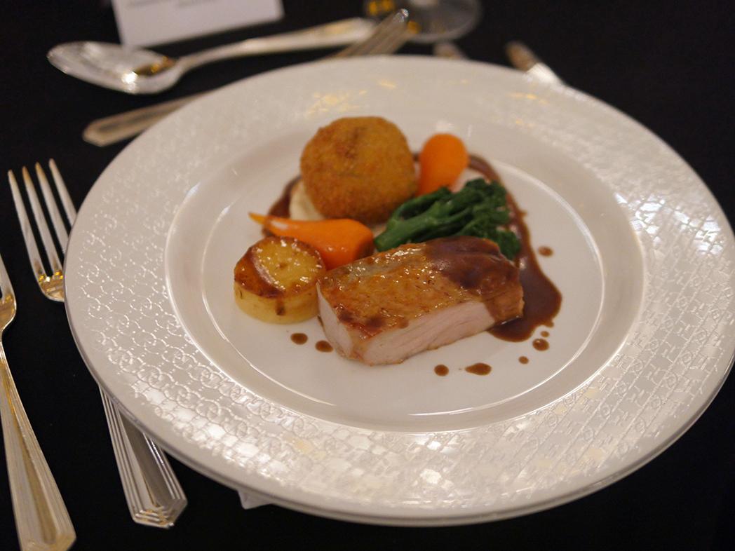 BAFTA dinner - Guinea Fowl