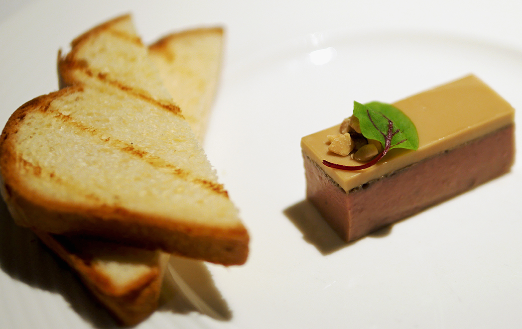 Birds Liver Parfait Boringdon Hall