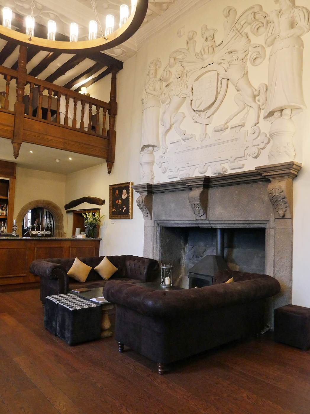 Boringdon Hall Fireplace
