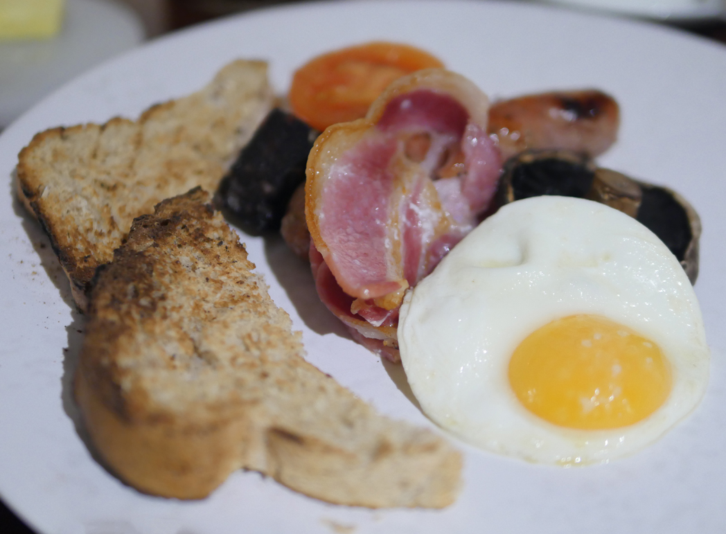 Boringdon Hall Full English